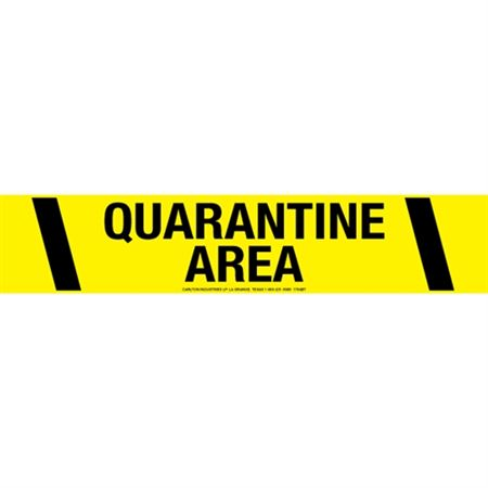Quarantine Area Tape