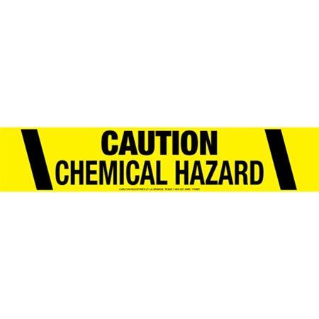 Caution Chemical Hazard Tape