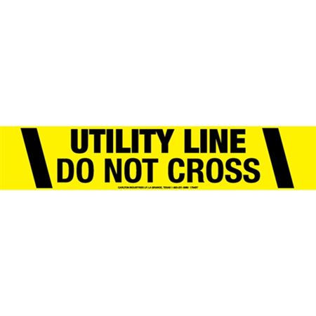 Utility Line Do Not Cross Tape