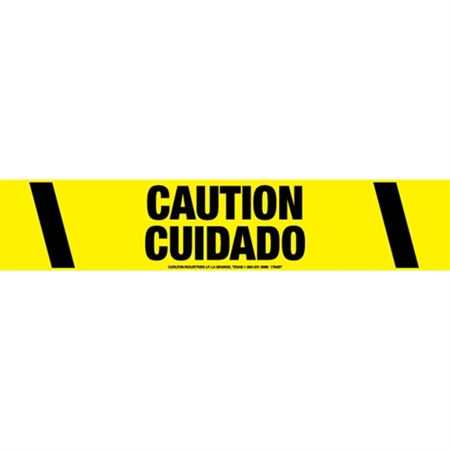 Caution / Cuidado Tape