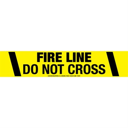 Fire Line Do Not Cross Tape