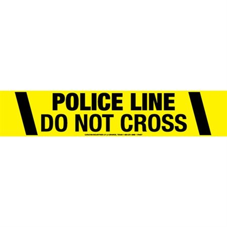 Police Line Do Not Cross Tape