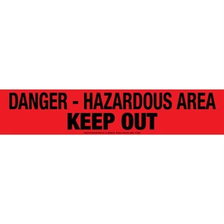 Danger Hazardous Area Keep Out Tape