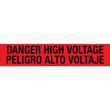 Danger High Voltage / Peligro Alto Voltaje Tape