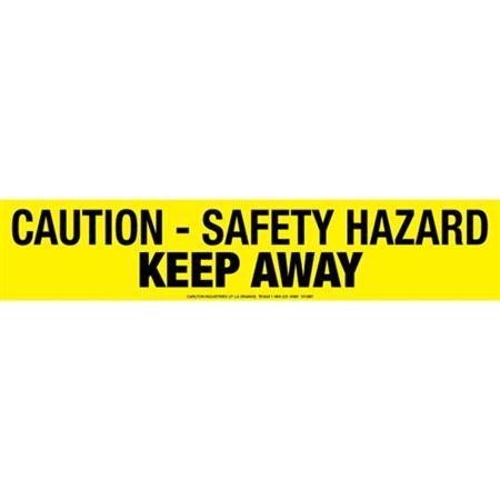 Caution Safety Hazard Keep Away Tape