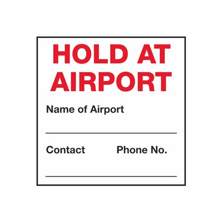 Hold At Airport - 4 x 4