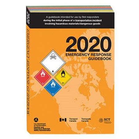 Emergency Response Guidebook 2020 - Desk Copy English, Softbound 5.5 in. x 7.5 in.
