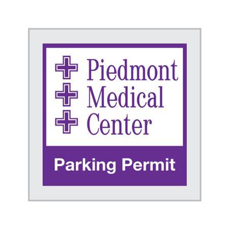 Unnumbered Custom Parking Permits - Square 3 x 3