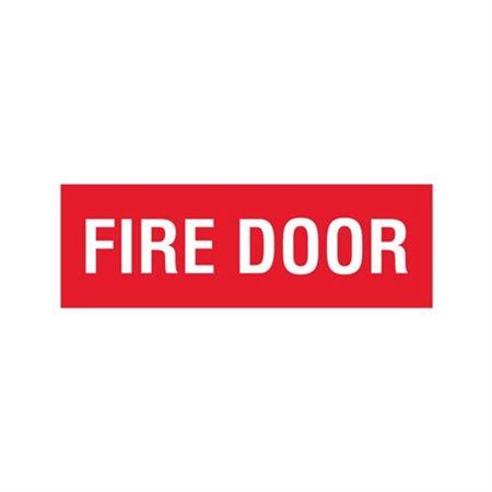 Fire Door - Vinyl Marker - 4 x 12