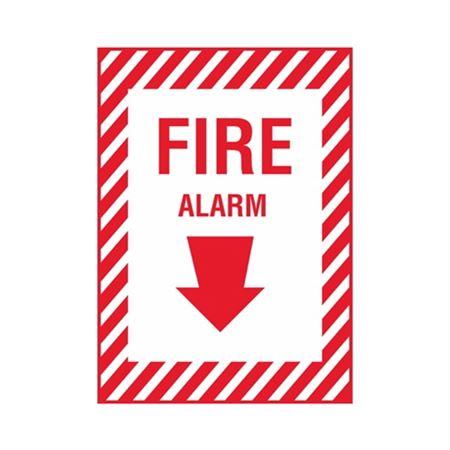 Fire Alarm - Vinyl Decal 10 x 14