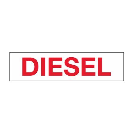 """Truck/Tank Decals - Diesel - 4"""" Letter 6 x 24"""
