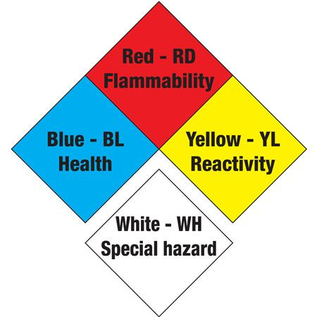 NFPA Diamond Magnetic Vinyl 7 1/2 Inches