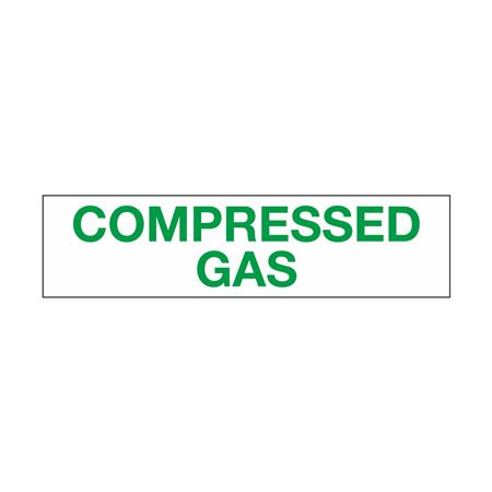 Truck/Tank Decals - Compressed Gas