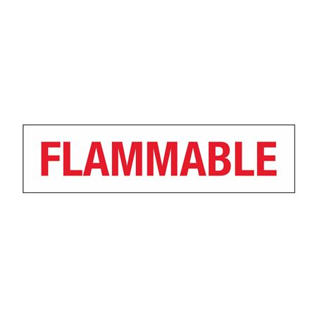 Truck/Tank Decals - Flammable