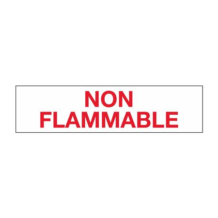 """Truck/Tank Decals - Non-Flammable - 2"""" Letter 6 x 24"""