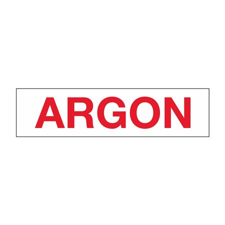 """Truck/Tank Decals - Argon- 4"""" Letter 6 x 24"""