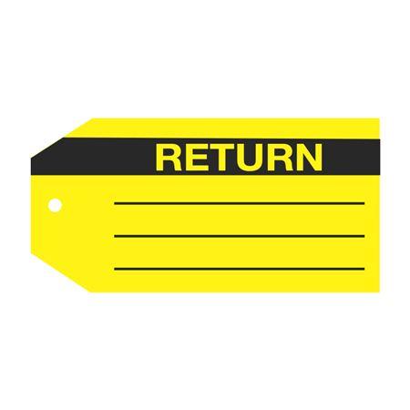 Product Status Tags - Return 2.875 x 5.75