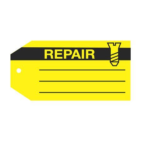 Product Status Tags - Repair 2.875 x 5.75