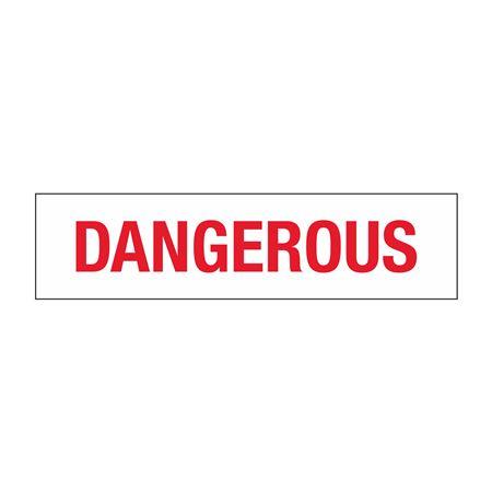 Truck/Tank Decals - Dangerous