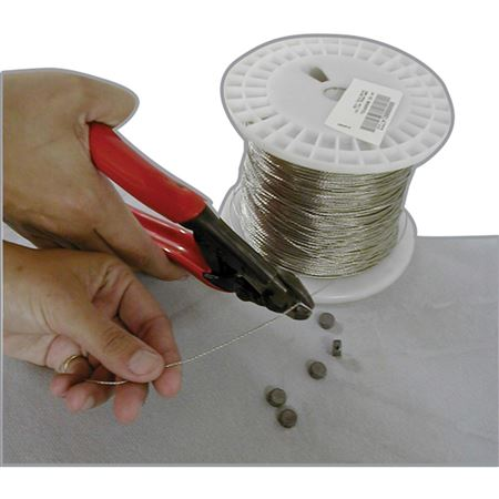 1000' 2-Ply Stainless Steel Continuous Length Wire