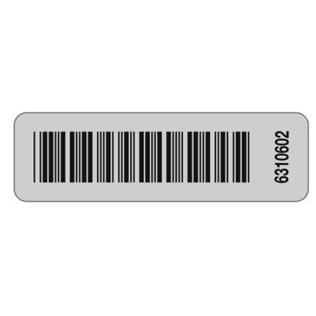 Aluminum Barcoded Plates - Custom - 2.90 x .875