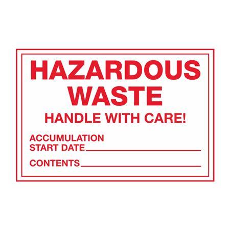 Special HazWaste Labels
