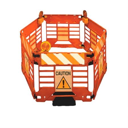 Addguards Safety Fence - Caution Sign