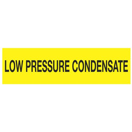 ANSI Pipe Markers Low Pressure Condensate - Pk/10