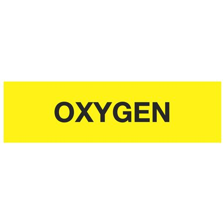 ANSI Pipe Markers Oxygen - Pk/10
