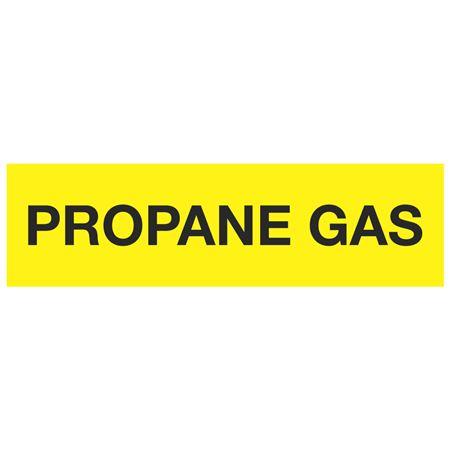 ANSI Pipe Markers Propane Gas - Pk/10