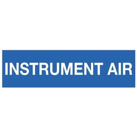 ANSI Pipe Markers Instrument Air - Pk/10