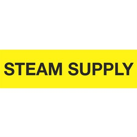 ANSI Pipe Markers Steam Supply - Pk/10