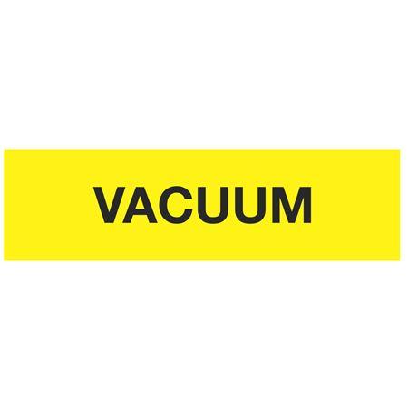 ANSI Pipe Markers Vacuum (Yellow) - Pk/10
