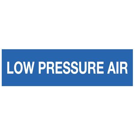 ANSI Pipe Markers Low Pressure Air - Pk/10