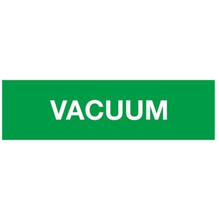 ANSI Pipe Markers Vacuum (Green) - Pk/10