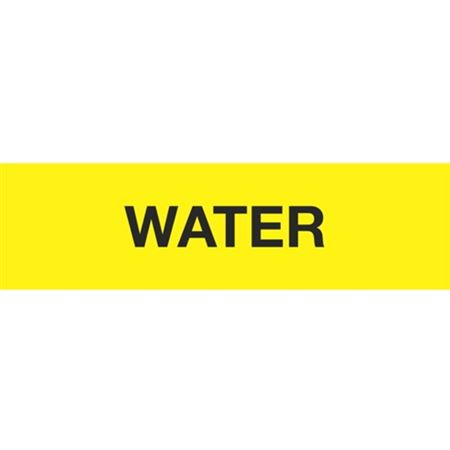 ANSI Pipe Markers Water - Pk/10