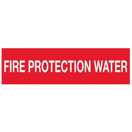 PK/10 FIRE PROTECTION WATER PIPEMARKER