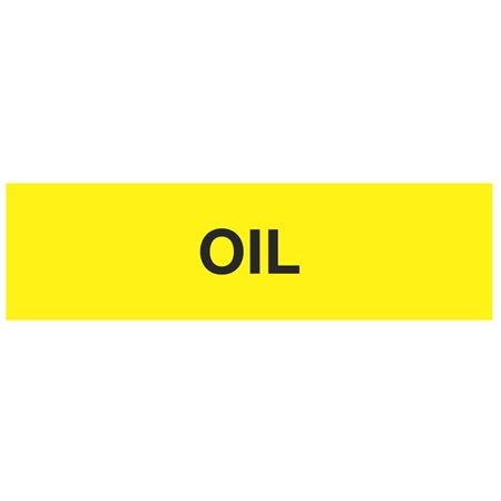 ANSI Pipe Markers Oil - Pk/10