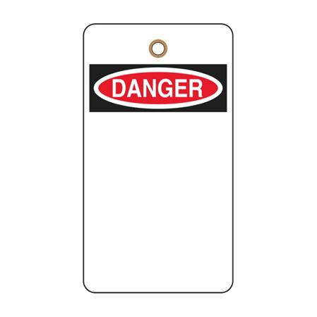Danger Tag (Blank)