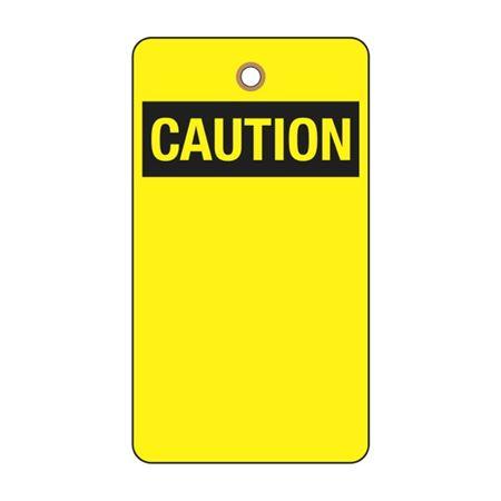 Caution Tag (Blank)