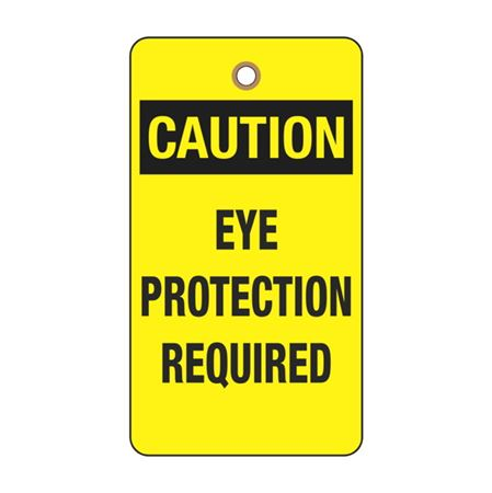 Caution Eye Protection Required