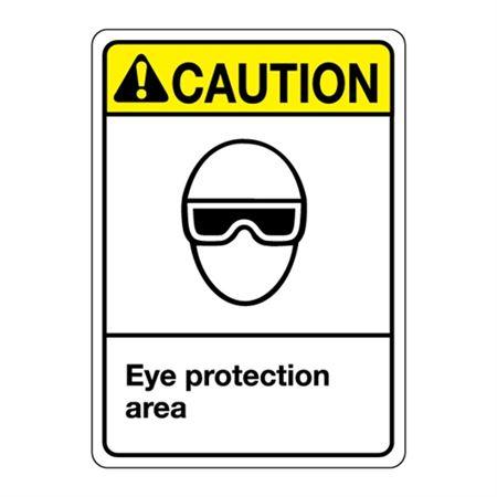 ANSI Eye Protection Area Sign