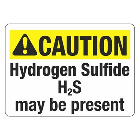 ANSI CAUTION Hydrogen Sulfide May Be Present