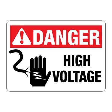 ANSI DANGER High Voltage