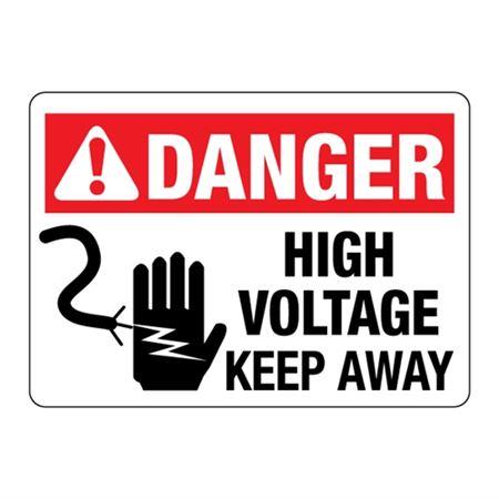 ANSI High Voltage Keep Away