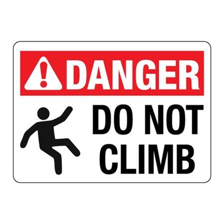 ANSI Do Not Climb