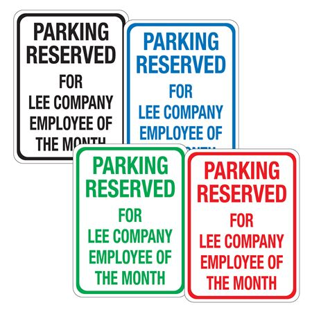 Jiffy Traffic and Parking Signs - Vertical 18x24