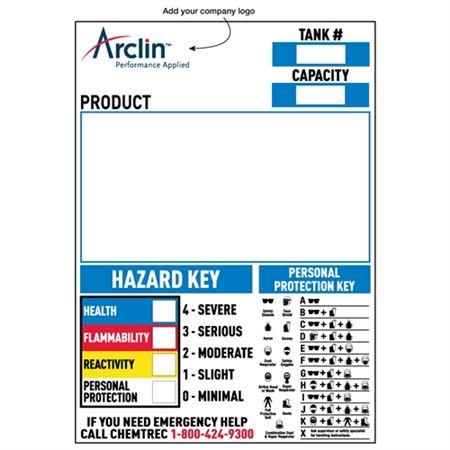 Custom Aluminum NFPA Signs - 18 1/2 x 26