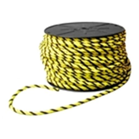 Barrier Rope - Yellow/Black Barrier Rope 5/16 in. x 600 ft.