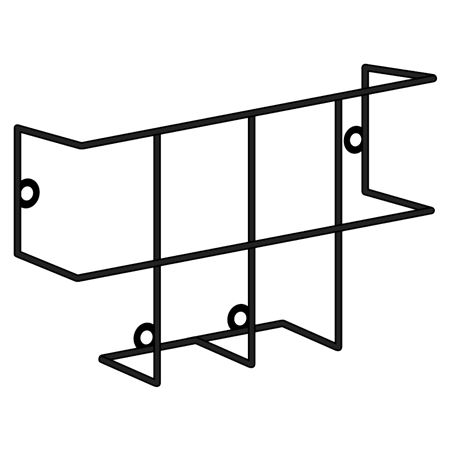 Double Steel Rack for MSDS and SDS Binders
